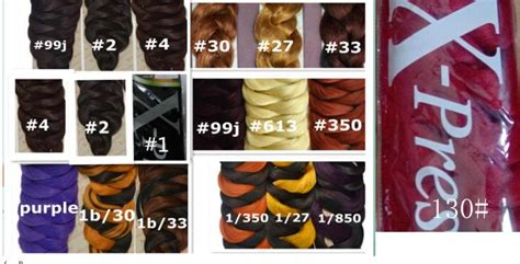 how many packs of xpressions hair for box braids medium 821 165g pack braid purple surper long hair xpression