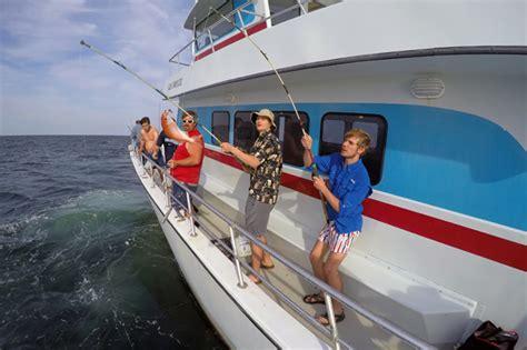 party boat fishing in destin florida deep sea fishing party boat in destin tripshock