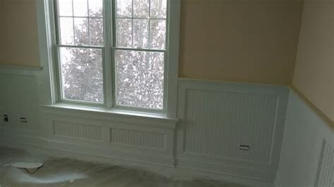 Frame And Panel Wainscoting by Wainscoting To 1x4 Casing Transition Page 2 Finish