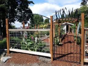 deer fence idea backyard pinterest