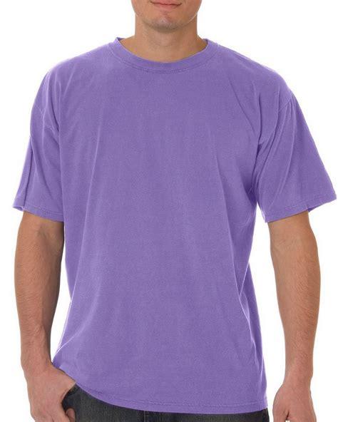 comfort colors violet comfort colors c5500 ringspun garment dyed t shirt