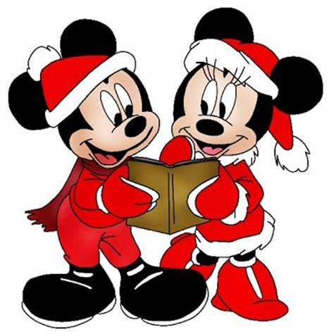 mickey and minnie mouse christmas clip art images