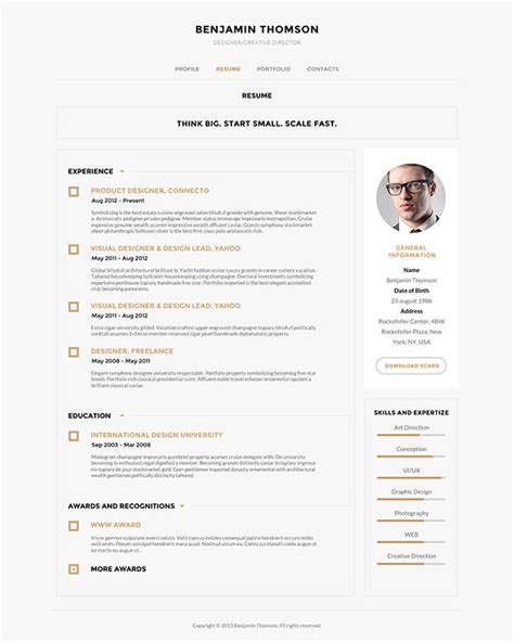 Cv Theme Free 2014 by 40 Creative Cv Resume Designs Inspiration 2014 Diễn đ 224 N