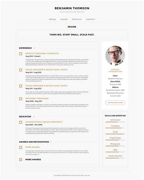Cv Theme Free 2014 by 40 Creative Cv Resume Designs Inspiration 2014 Diễn đ 224 N
