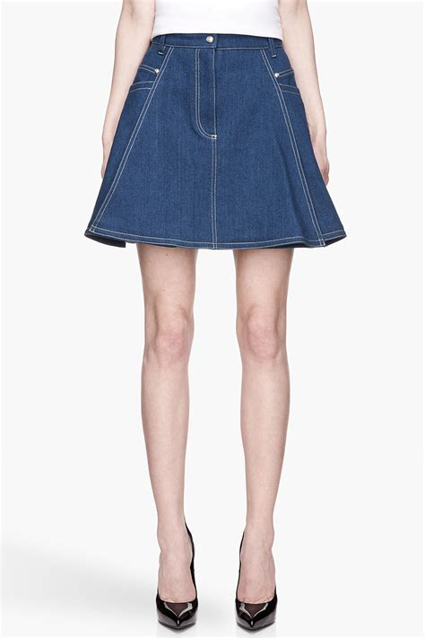 brainy mademoiselle denim skirt