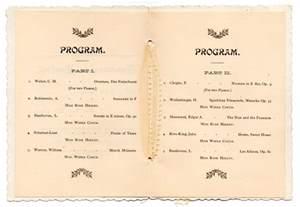 Preschool Graduation Program Template by Free Printable Graduation Program Templates