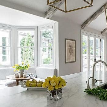 Kitchen Bay Window Banquette Nook Design Ideas