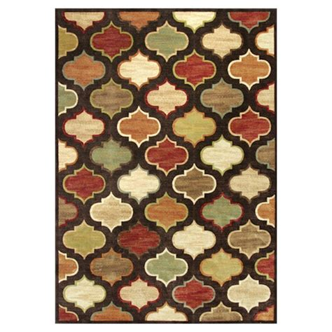 Brown And Green Area Rugs Kas Rugs Let S Go Morocco Brown Green 7 Ft 10 In X 11 Ft 2 In Area Rug Ver8562710x112 The