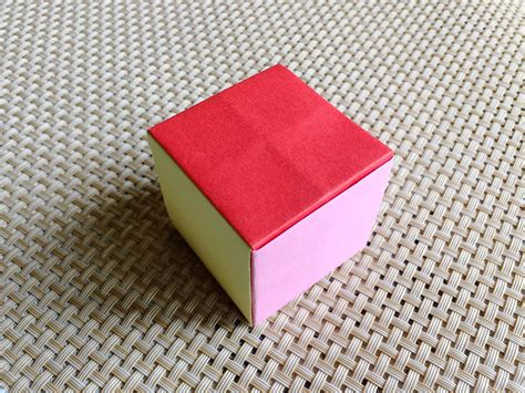 Simple Origami Cube - easy origami cube my crafts and diy projects