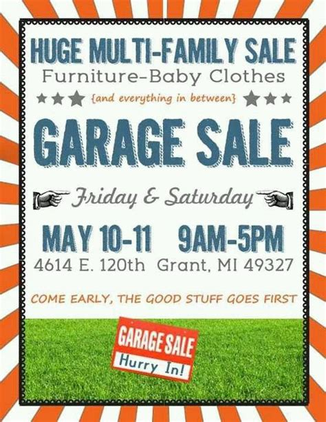 2nd annual deals for seals yard sale fundraiser national