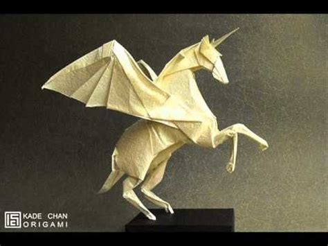 origami pegasus diagram origami alicorn kade chan diagrams in description
