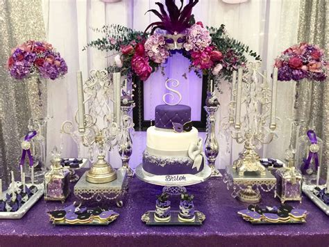 quinceanera party themes decorations masquerade quincea 241 era party ideas photo 7 of 16 catch