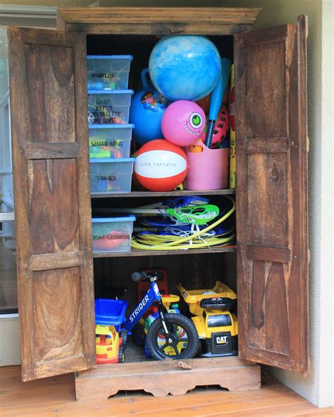 Outdoor Armoire Storage by Htontoes The Outdoor Armoire