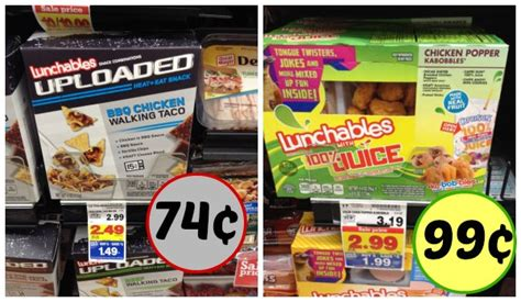 Lunchables Sweepstakes - lunchables as low as 74 162 at kroger