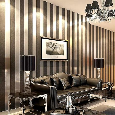 decorating with stripes for a stylish room 22 striped walls living room designs decorupdate