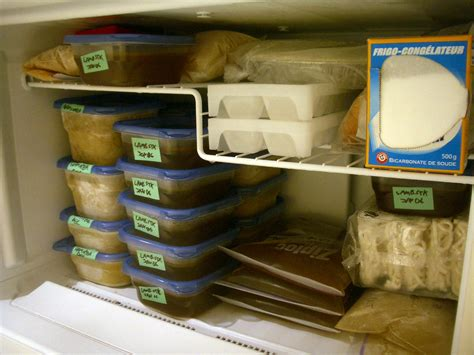 How To Freeze At Home by Ten Simple Ways To Organize The Freezer The Happy