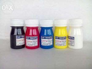 Cat Akrilik Tekstil fitinline 4 macam cat yang dapat digunakan untuk