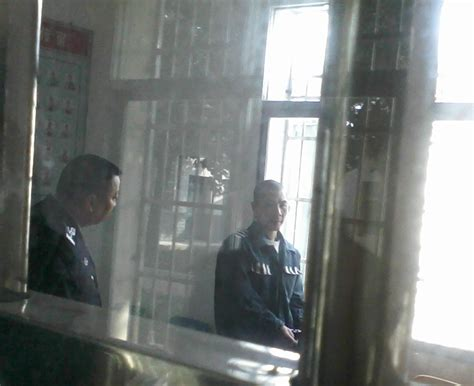 Prison Visiting Room by Liao Zhijun Brutally Tortured In Chenzhou Detention Center