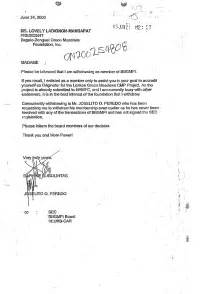 Sample Business Letter Format With Two Signatures   Cover