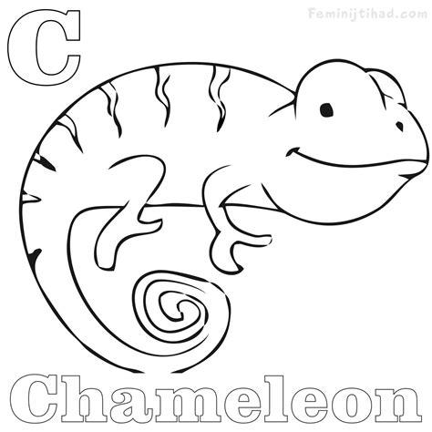 chameleon coloring page chameleon skull coloring pages