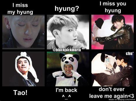 Tao Meme - exo tao memes quotes