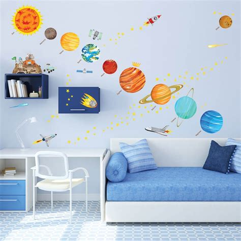 kid room decals these educational wall ideas are for nonagon style