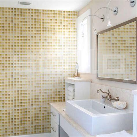 banheiros decorados pastilhas bege decorando casas - Banheiro Decorado Bege