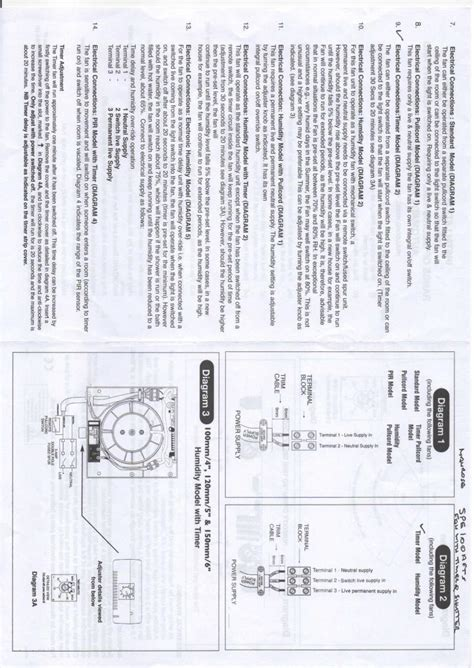 manrose extractor fan wiring diagram wiring diagram