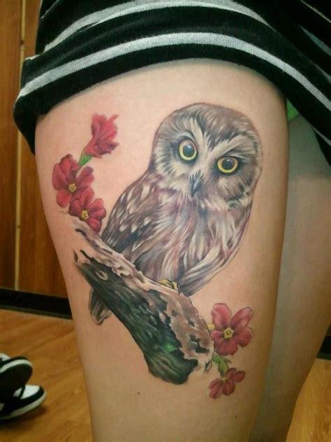 realistic owl tattoo design 30 realistic owl tattoos ideas