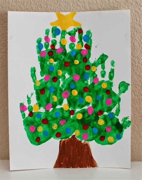 kids handprint christmas crafts find craft ideas