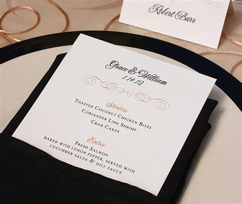 printing your own wedding place cards its not a celebration without the menu letterpress weddi with print your own wedding place cards