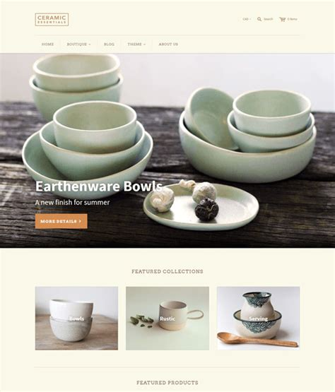 shopify themes cypress 7 of the best shopify themes for kitchenware down