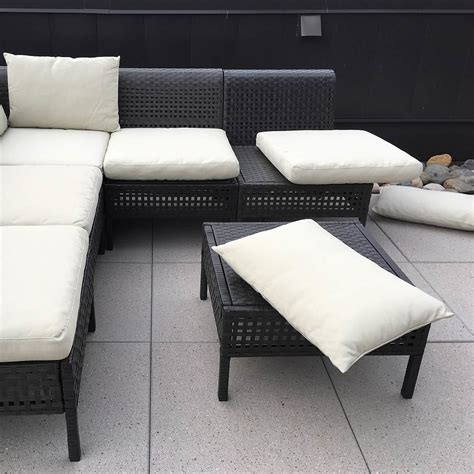 ikea outdoor furniture cushions ikea hacks add ties to outdoor furniture cushions family handyman