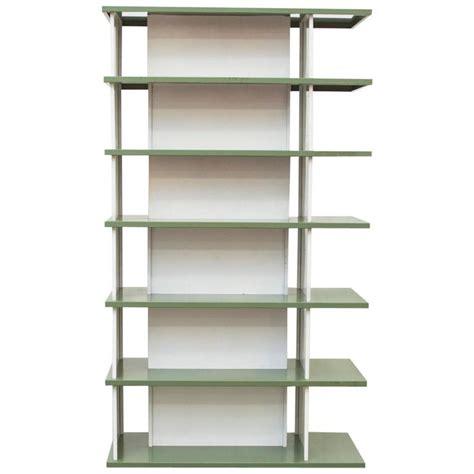 wim rietveld enameled metal bookshelf for sale at 1stdibs