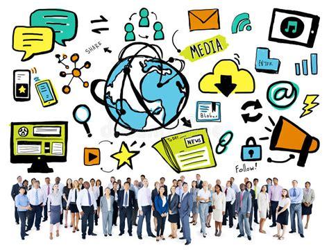 imagenes de impacto de redes sociales hombres de negocios de la tecnolog 237 a del mundo del medios