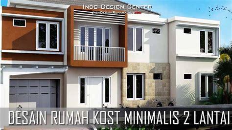 desain rumah kost minimalis  lantai jasa desain rumah kost