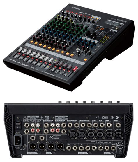 Audio Mixer Yamaha Mgp12x yamaha mgp12x image 737678 audiofanzine