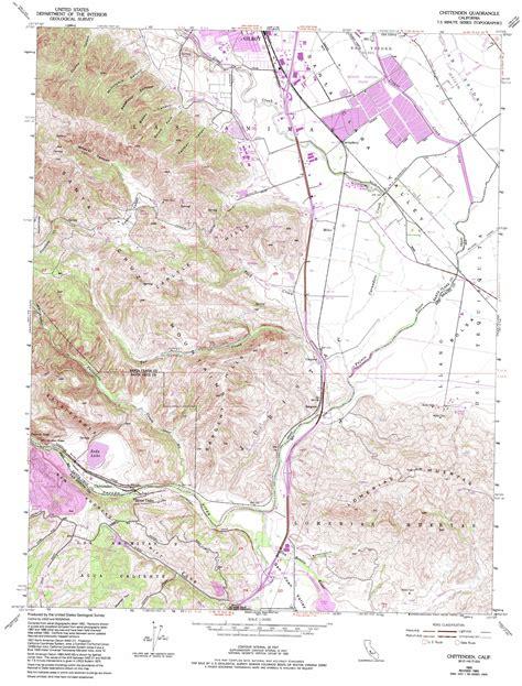 usgs topo maps california chittenden topographic map ca usgs topo 36121h5