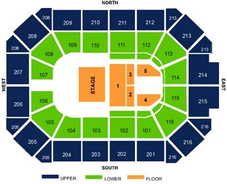 allstate arena chicago seating chart seating charts seating charts photo galleries