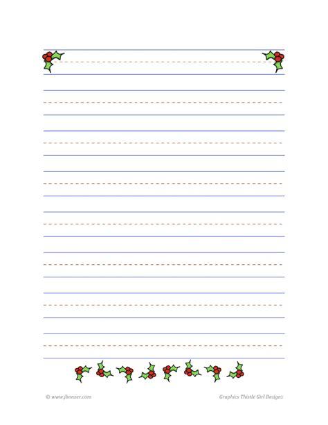 printable christmas story paper mrs bonzer s writing paper