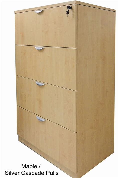 4 Drawer Lateral File by 4 Drawer Laminate Lateral Files In Stock