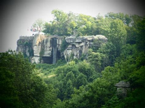 Rock City Gardens Beautiful Rock Bridge Picture Of Rock City Gardens Lookout Mountain Tripadvisor