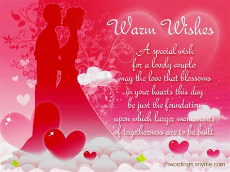 Wedding Wishes by Wedding Congratulations Messages Messages Wordings And