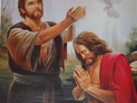 imagenes de jesus bautismo ministerio juan el bautista estudio marcos 2 el punto