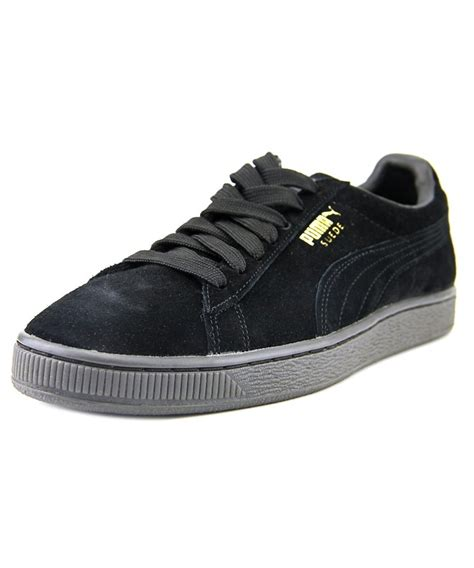 Suede Mono Black suede classic mono iced toe suede black sneakers shoes sneakers