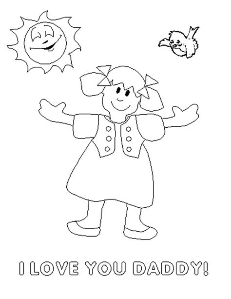 free i love you daddy coloring pages i love you daddy coloring pages coloring home