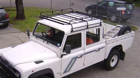 land rover defender 130 roof racks