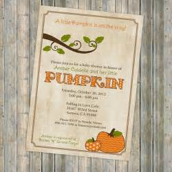 pumpkin baby shower invitations baby shower invitation with