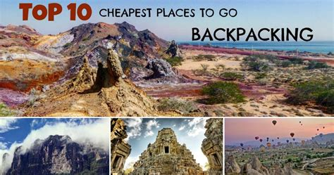 cheap places  travel   world     day