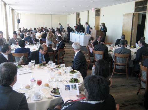 Un Delegates Dining Room Iisd Rs Expert Panel On Ocean Acidification 3